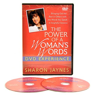 The Power of a Woman's Words DVD Experience  -     By: Sharon Jaynes
