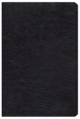 Zondervan NIV (1984) Study Bible--bonded leather, black  -