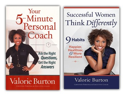 Successful Women Think Differently and Your 5-Minute  Personal Coach, pack  -     By: Valorie Burton