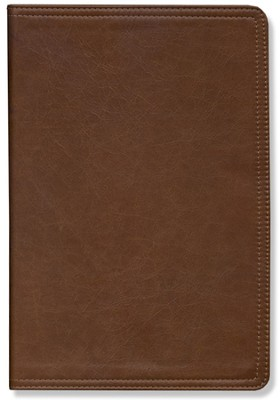 NIV Archaeological Study Bible Renaissance Fine Leather, Venetian Brown 1984  -