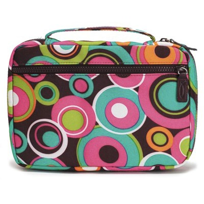 Colorful Circles Bible Cover, Large  -