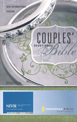 NIV Couples' Devotional Bible, Hardcover 1984 - Imperfectly Imprinted Bibles  -