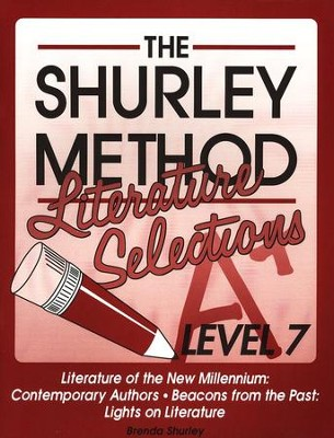 Shurley English Level 7 Literature Selections  -