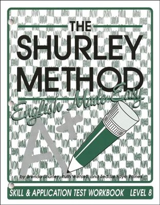 Shurley English Level 8 Student Test Workbook   -