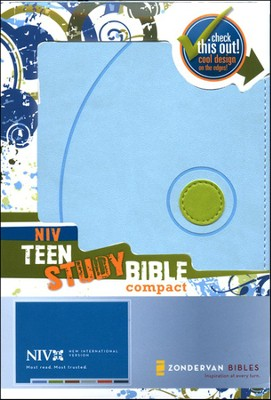 NIV Teen Study Compact, Case of 24   -