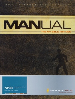 Manual: The NIV Bible for Men, Hardcover  1984  -