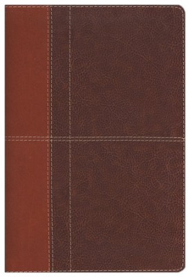 NIV Life Application Study Bible, soft leather-look--caramel/dark caramel 1984  -