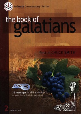 The Book of Galatians: In-Depth Commentary, MP3  -     By: Chuck Smith