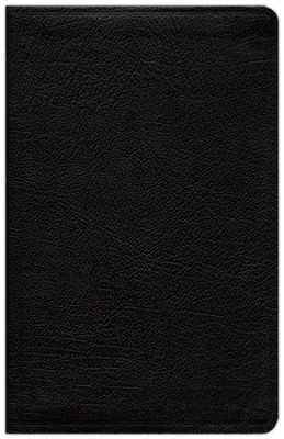 NIV Life Application Study Bible, Personal Size, Bonded Leather, Black 1984  -