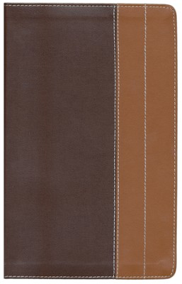 NIV Life Application Study Bible, Personal Size, European Leather, Chocolate/Tan 1984  -