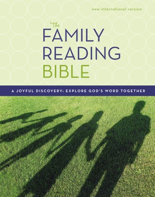 The NIV Family Reading Bible  - Slightly Imperfect  -