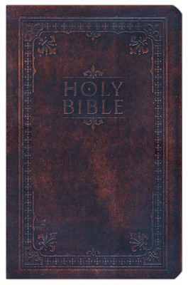 NIV Reference Bible--bonded leather, antiqued brown  1984  -