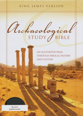 KJV Archaeological Study Bible: An Illustrated Walk Through Biblical History and Culture, Bonded, Black  -     By: Walter C. Kaiser Jr., Duane Garrett