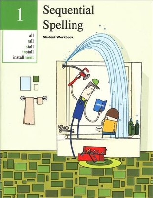 Sequential Spelling Level 1 Student Workbook, Revised Edition - Slightly Imperfect  -