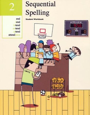 Sequential Spelling Level 2 Student Workbook, Revised Edition  -