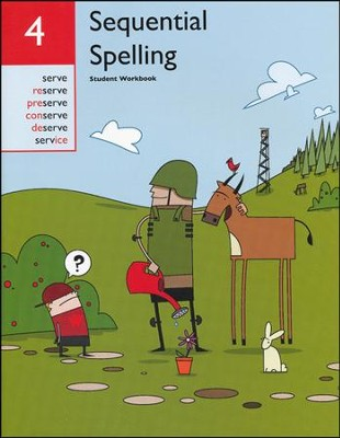 Sequential Spelling Level 4 Student Workbook, Revised Edition  -