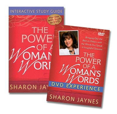 Power of a Woman's Word, DVD & Study Guide  -     By: Sharon Jaynes
