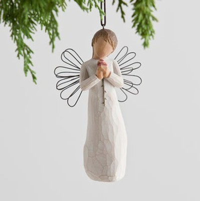 Willow Tree &#174 Loving Angel Ornament   -     By: Susan Lordi