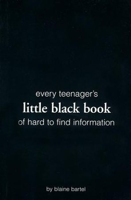 Little Black Book on Hard to Find Information  -     By: Blaine Bartel