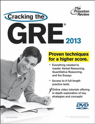 Cracking the GRE with DVD, 2013 Edition  -     By: Princeton Review