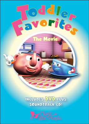 Toddler Favorites: The Movie (With Bonus CD)   -