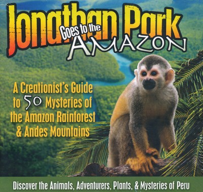 Jonathan Park Goes to the Amazon Audio CDs  -     By: Pat Roy