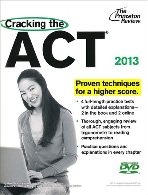 Cracking the ACT with DVD, 2013 Edition  -     By: Princeton Review