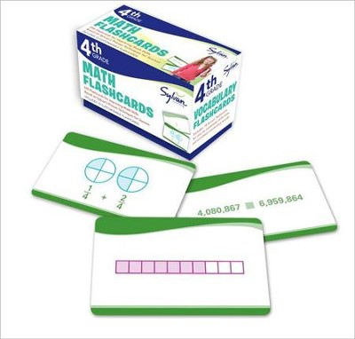 Fourth Grade Math Flashcards  -     By: Sylvan Learning