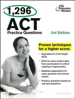 1,296 ACT Practice Questions, 3rd Edition  -     By: Princeton Review