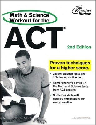 Math and Science Workout for the ACT, 2nd Edition  -     By: Princeton Review
