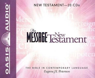 The Message: The New Testament - Unabridged Audiobook on CD  -     By: Eugene H. Peterson