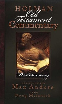 Deuteronomy Holman Old Testament Commentary, Volume 3  - Slightly Imperfect  -