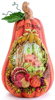 Give Thanks Pumpkin  -