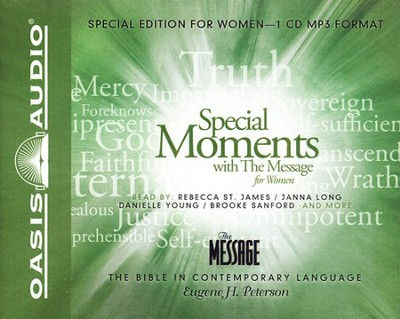 Special Moments with The Message for Women - Unabridged Audiobook on MP3  -     By: Eugene H. Peterson