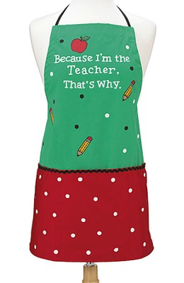 Teacher Apron  -
