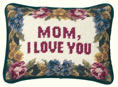 Mom I Love You Pillow  -