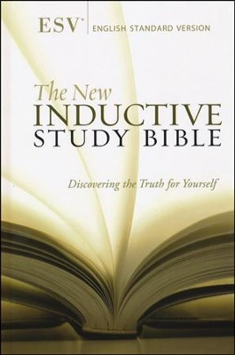 The ESV New Inductive Study Bible, Hardcover  -