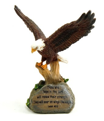 Wings Like Eagles--Desktop Figurine   -