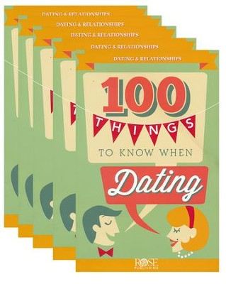 100 Things to Know When Dating, Pamphlet - 5 Pack   -