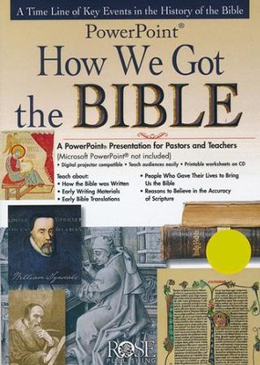 How We Got the Bible: PowerPoint CD-ROM  -