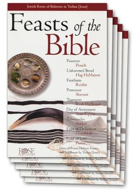 Feasts of the Bible Pamphlet - 5 Pack  -
