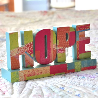 Hope, Tabletop Decoration  -