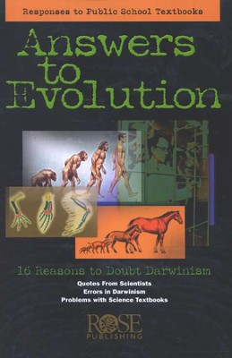 Answers to Evolution, Pamphlet   -