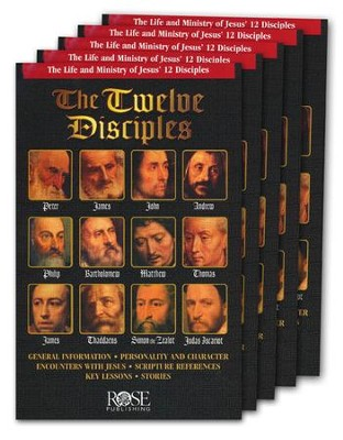 Twelve Disciples Pamphlet - 5 Pack  -
