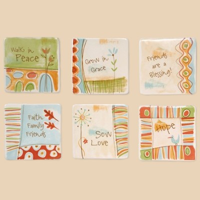 Magnet Collection, Set of 6   -     By: Jessica Flick