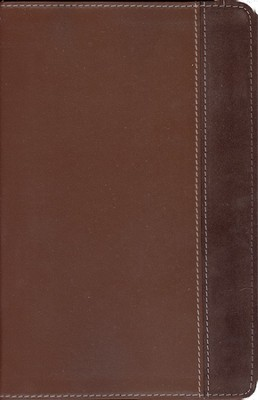 NIV New Women's Devotional Bible, Compact, Renaissance Fine Leather, Rich Brown/Espresso 1984  -