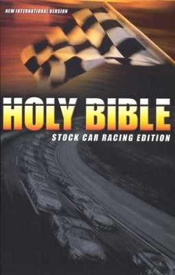 NIV Thinline Bible, Stock Car Edition  1984  -