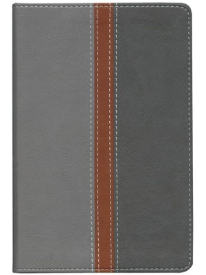 NIV Bible for Busy Dads, Italian Duo-Tone &#153, Gray/Charcoal 1984  -