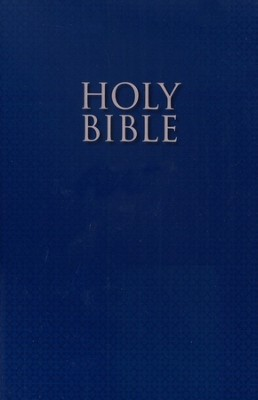 NIRV Holy Bible for ESL Readers, Softcover, Blue  -
