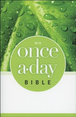 NIV Once-A-Day Bible - Slightly Imperfect  -